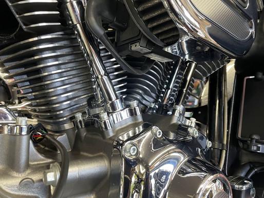 このエンジン、いい色してる〜!