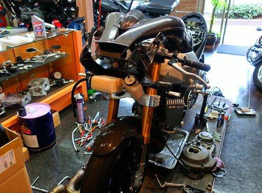 Buell('07 XBRR)は今…