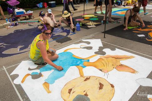 Artist Sarah Meyer