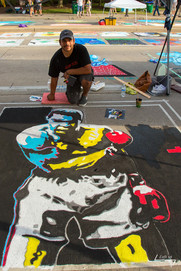Artist Gabe Zamora