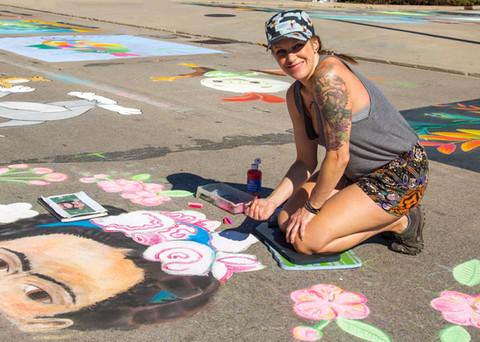 Artist Angie Cashdollar
