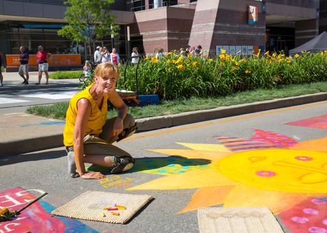 Artist Barbara Ganey-Shown