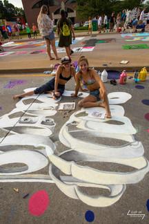 Artists Allison and Lauren Shank