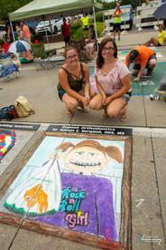 Artists Ciera and Sydney Wetzel-Sexton