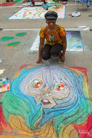 Artist Tatiana Green