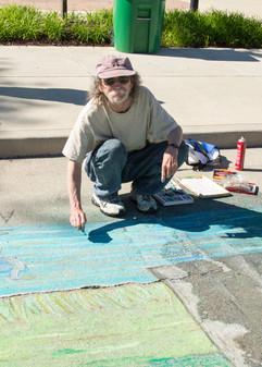 Artist Jerry Seabolt
