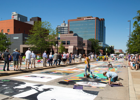 2017 Chalk Walk Artists