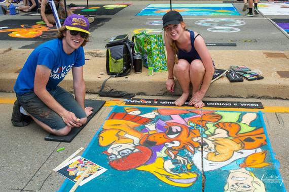 Artists Ryan Harris, Korisa Harris