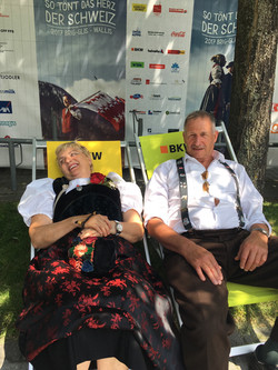 Maria Fuchst und Hans Wittwer