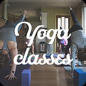 Front page Yoga class buttons Desktop.pn