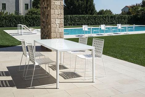 bemefa Outdoor Stühle weiß
