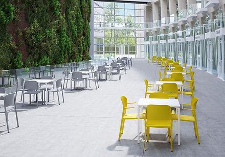Besucherstühle Tische bemefa