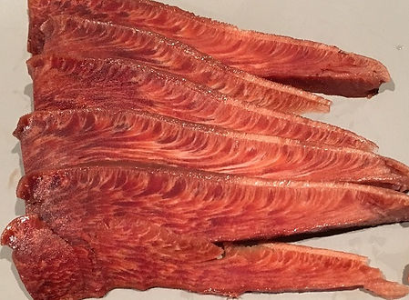 Slice through Beefsteak Fungus - Fistulina hepatica