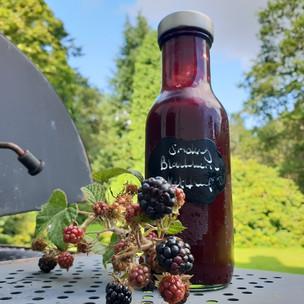 Smoky blackberry ketchup