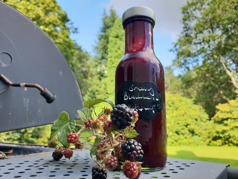 Smoky blackberry ketchup is a showstopper of a sauce