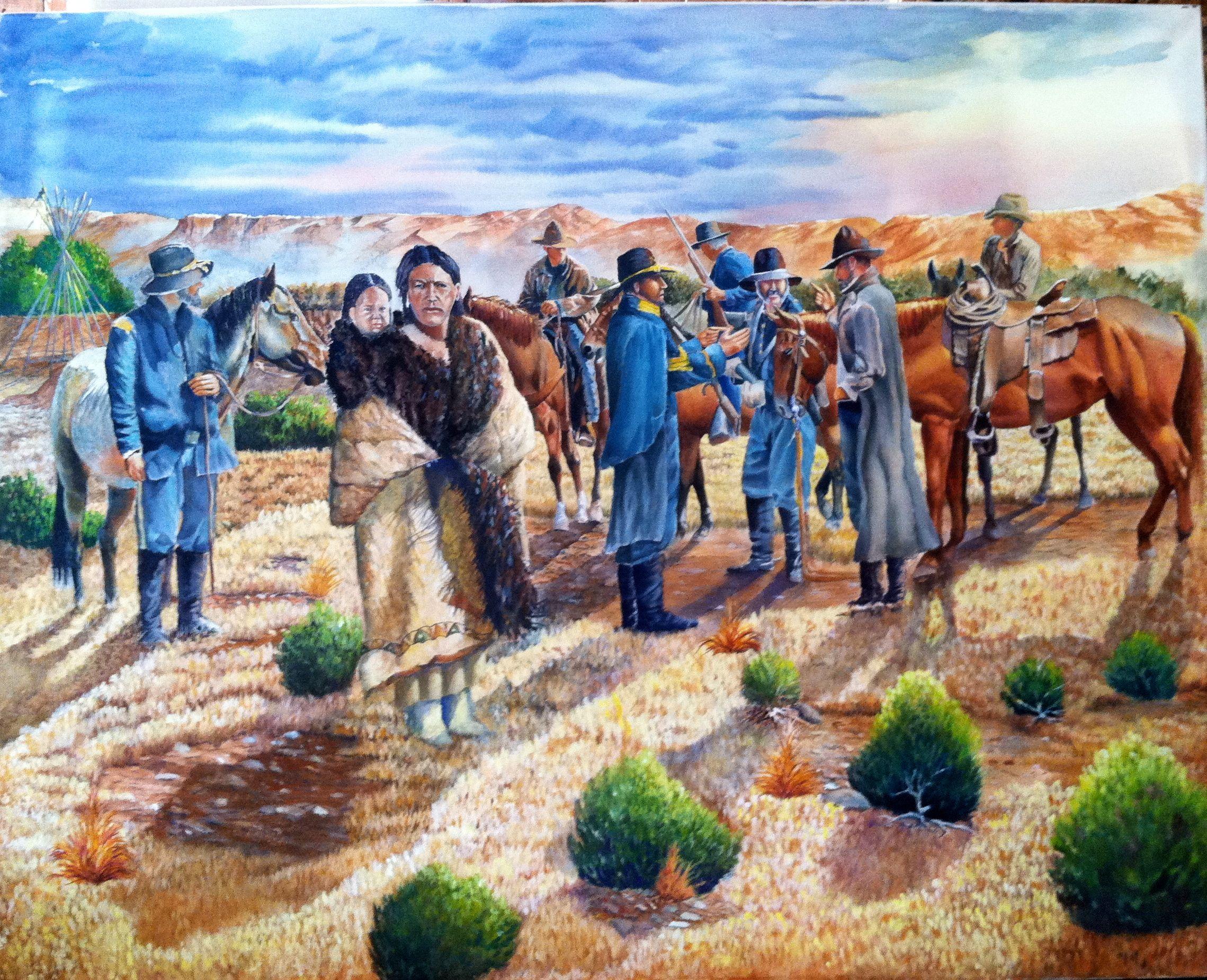 Taking Cynthia Ann - 1860