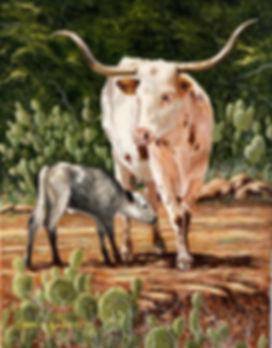 David Longhorn Painting 1.jpg