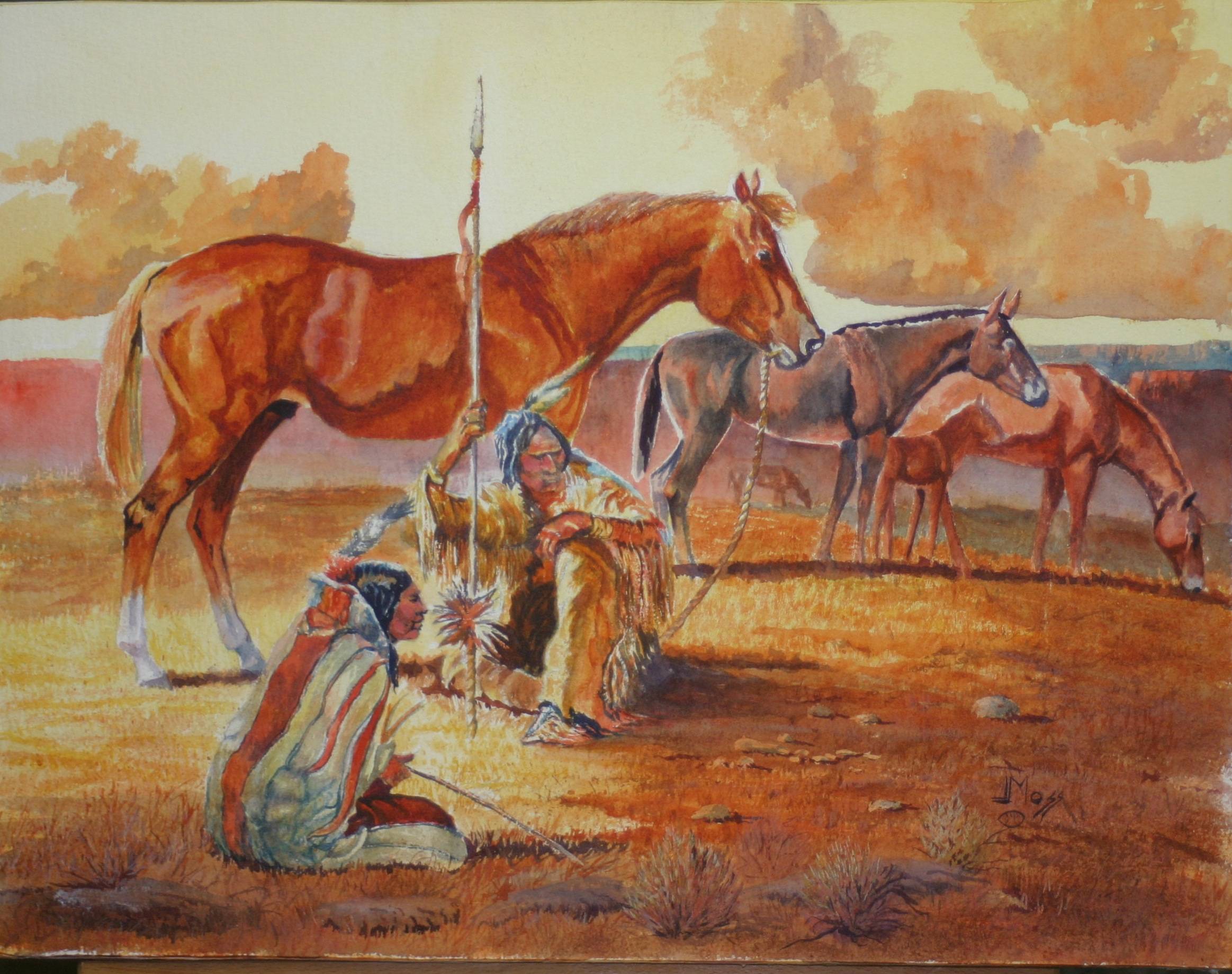 Comanche Camp Meeting