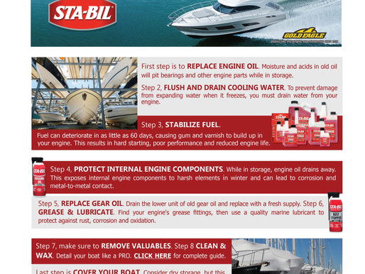 STA-BIL Protection for your boat!