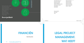 Proefdruk 2e editie Advocatuur als Onderneming