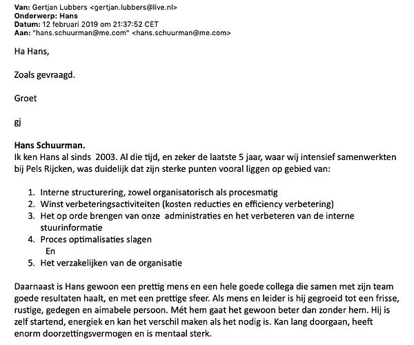 Referentie Gertjan Lubbers (bestuurder e