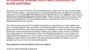 Presentatie Covid-gevolgen NOvA