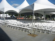 Tent with Chairs