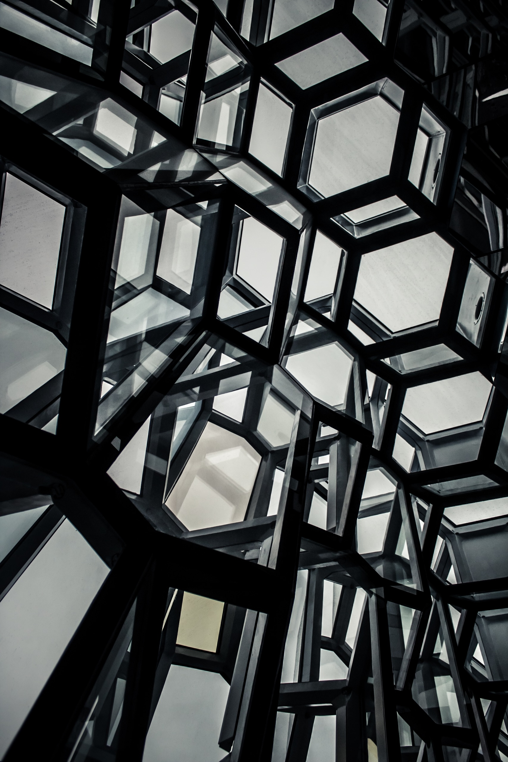 Windows of Harpa