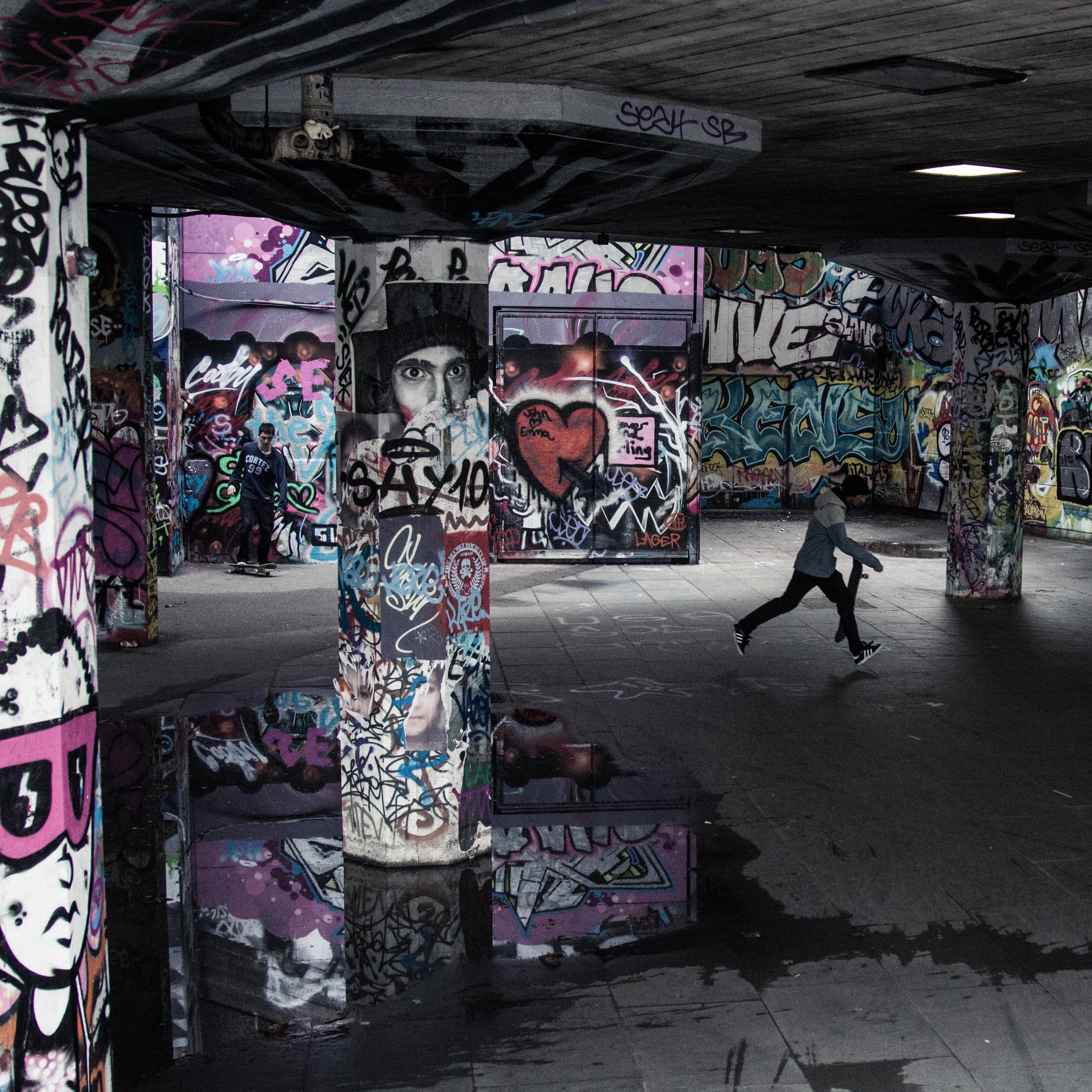 Graffiti at Southbank