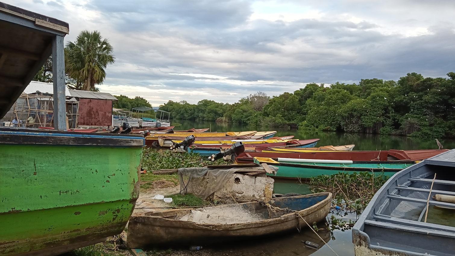 Black River in town