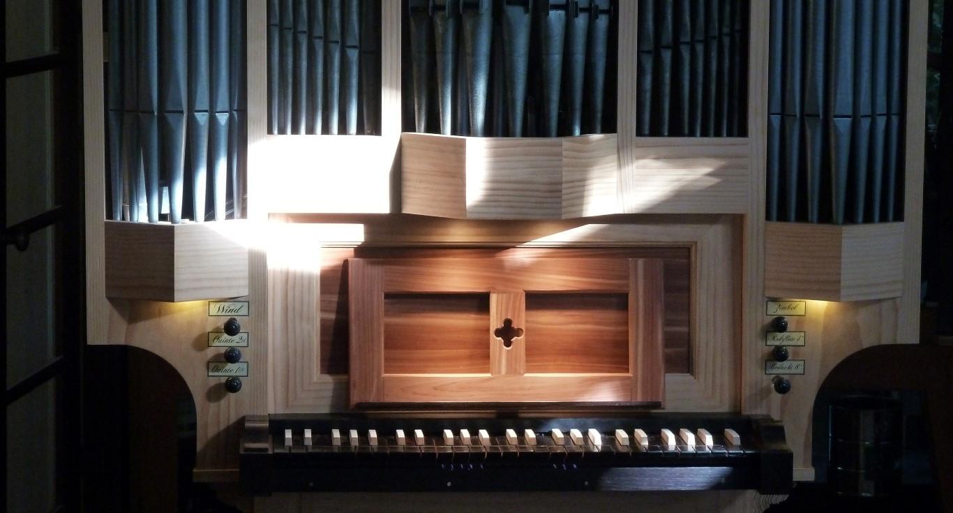 Buschbeck organ keyboard