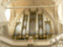 Jehmlich organ in old Buchholz case in the Dom of Greifswald