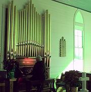 Hinners Pipe organ in Fedor, Texas