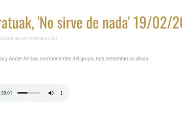 📻 Entrevista: 🏴Astoratuak 🏴 En Radio Rioja Alavesa