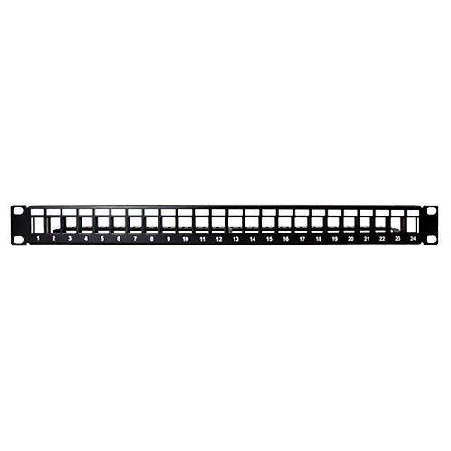 Unloaded 24-Port Patch Panel