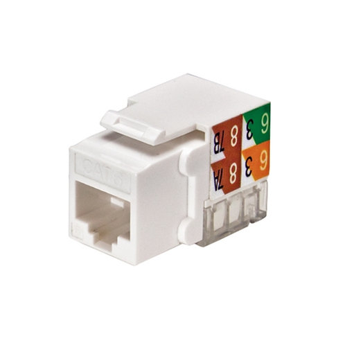 CAT5E RJ45 Keystone Jack Yellow