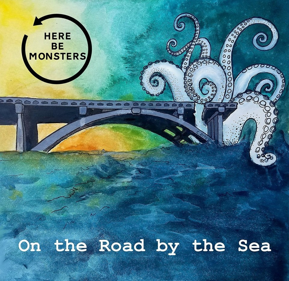 Here Be Monsters Album Cover for On the Road by the Sea