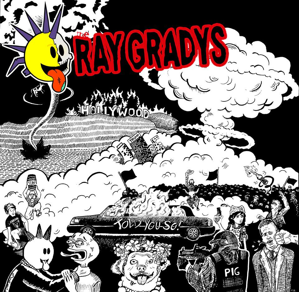 "The Ray Gradys EP cover for ""Told You So"""