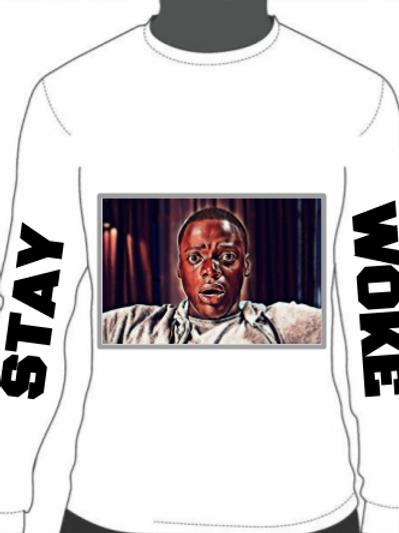 White Stay Woke Shirt