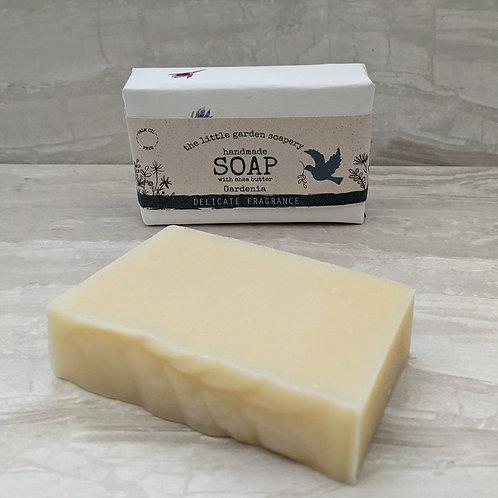 Gardenia Handmade Soap. Made with Shea Butter.