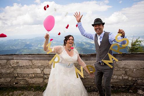 Weddingplanner Austria mountain wedding