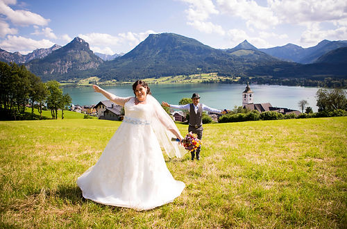Destination Wedding Austria - beauiful lakes and mountains
