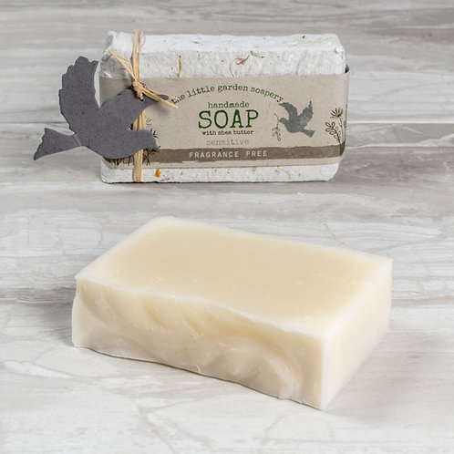 Fragrance Free simple soap for sensitive skin
