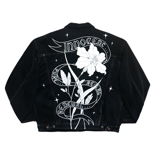 white Lily Jacket