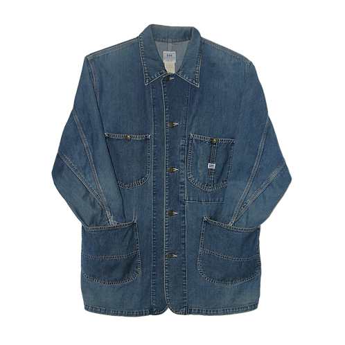 Workwear Denim Coat