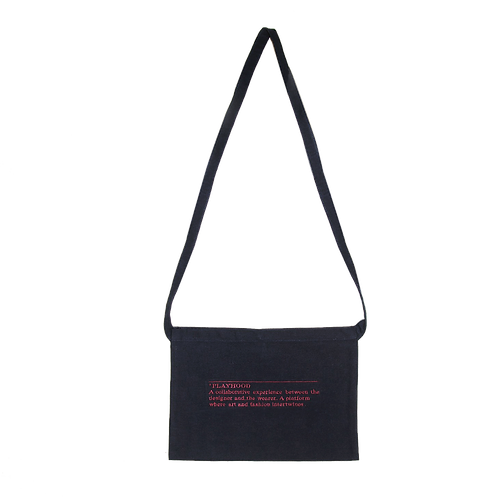 Canvas Sling Bag - Navy