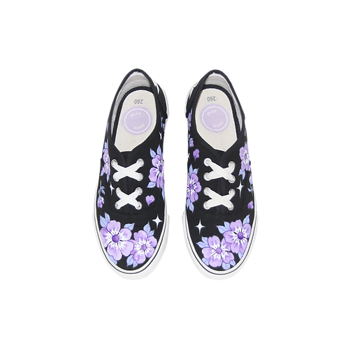 Wild Rose Canvas Shoes
