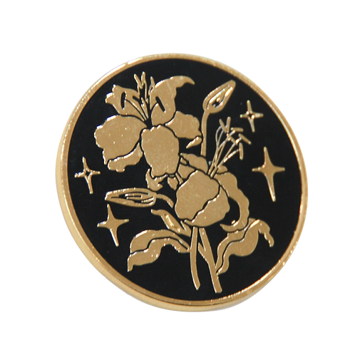 Round Lily Pin