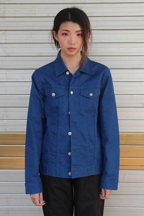 Cobalt Blue Denim Jacket