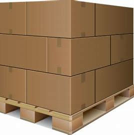 Pallet transport with goods